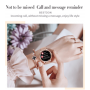 MK20 Smart Watch  Full Touch Screen 39mm Diameter Women Smartwatch For Ladies And Girls Compatible With Android and IOS