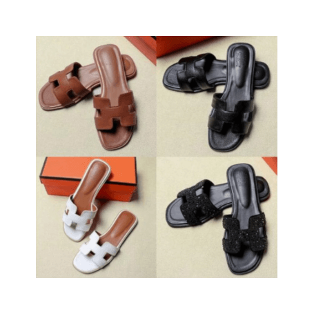 Women Summer Cut Out Ladies Sandals Ladies Luxury Brand Sandals Good Quality Flat Shoe Candy Color Outdoor Holiday Slides 34 -43