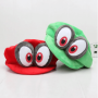 Anime Super plush Cappy Hats Bros Caps Soft Cosplay Adults Kids Party Accessories toys